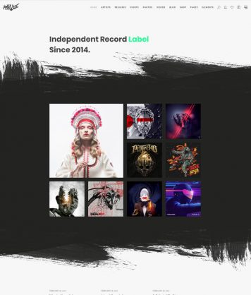 Discography Home