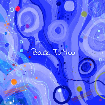 """cover art for the 2021 Eva Gadd single release """"Back To You"""" on Fabyl"""