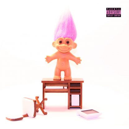 """cover art from the 2021 single release """"Trolls' by Gold Blend on Fabyl"""